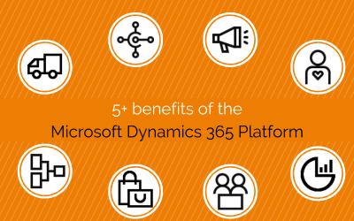 5+ Benefits of using the Microsoft Dynamics 365 platform