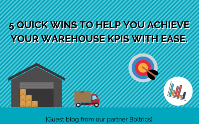 [Guest blog] 5 quick wins to help you achieve your warehouse KPIs with ease.