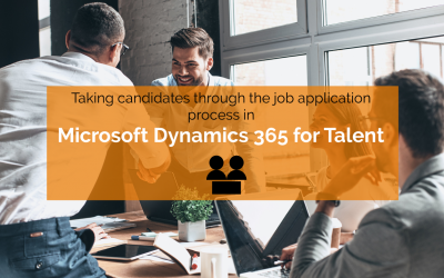 How to: Take a candidate through job application to offer in Microsoft Dynamics 365 for Talent