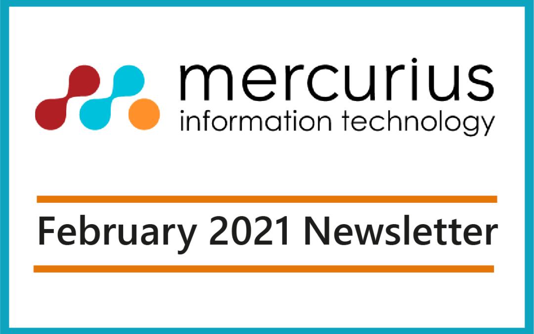 Mercurius IT – February Newsletter