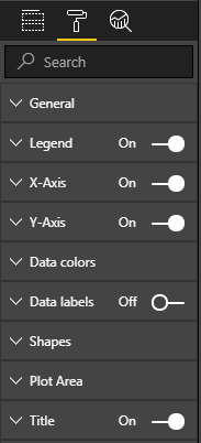 Some of the formatting options available