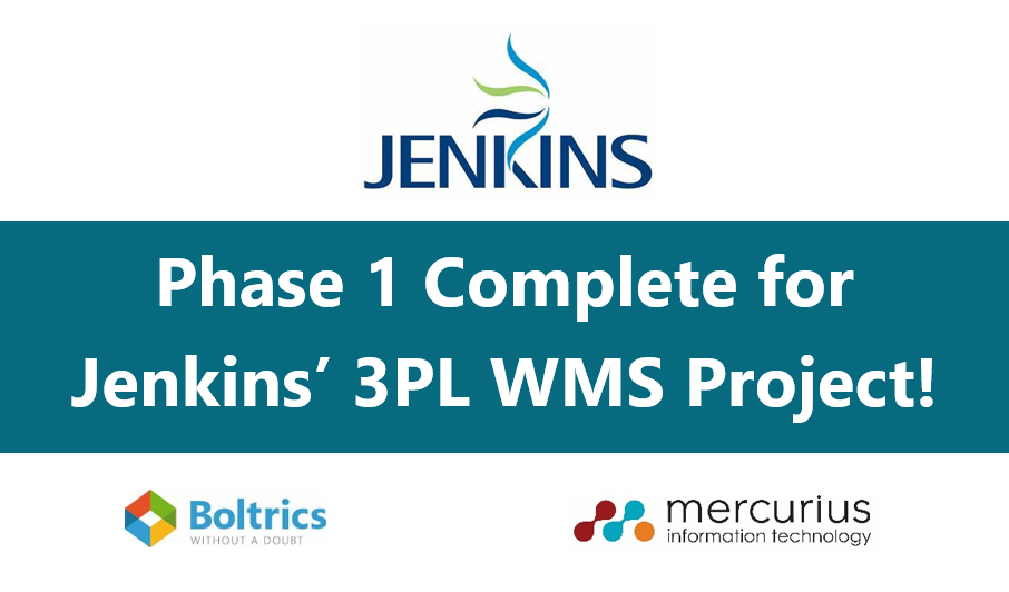 Jenkins future-proofs the business with brand new WMS