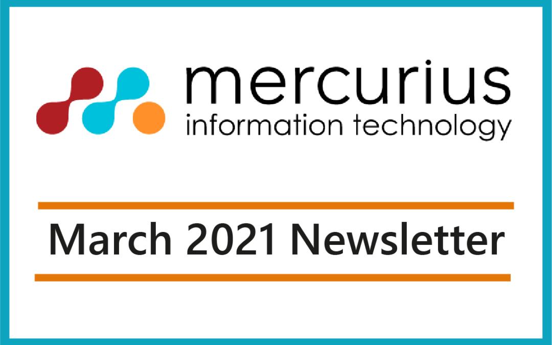 Mercurius IT – March Newsletter