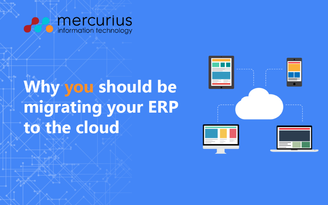 Why you should be migrating your ERP to the cloud